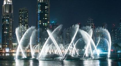 حقائق عن نافورة دبي الراقصة