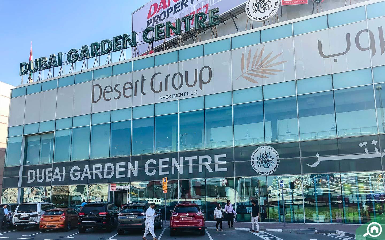 Dubai Garden Centre on Sheikh Zayed Road