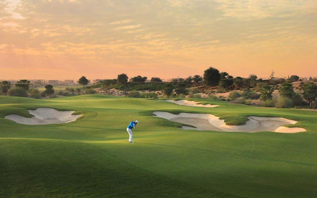 A stunning view of Dubai Hills Golf Club golf course. (Image credits: Dubai Hills Golf Club Facebook Page)