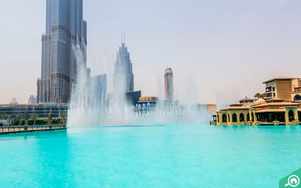 نافورة دبي
