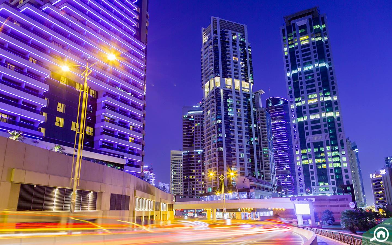 Dubai Marina buildings