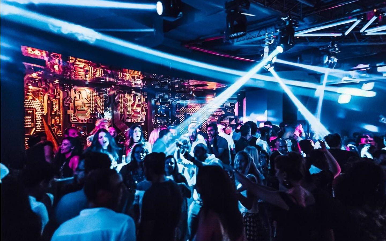 People dancing at a nightclub in JBR