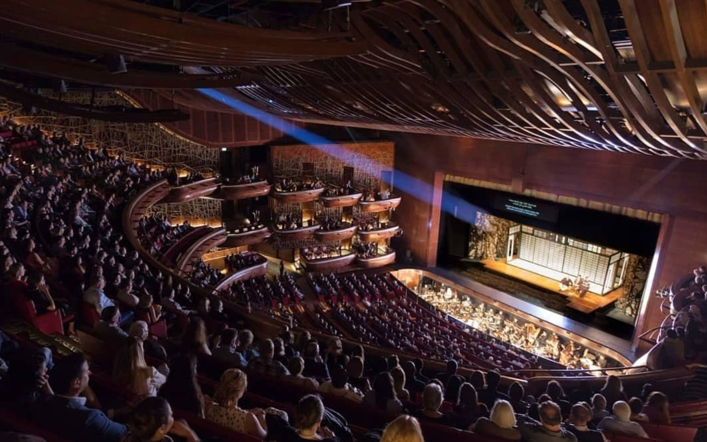 View of the Dubai Opera auditorium, which will be hosting Dubai events in August 2019