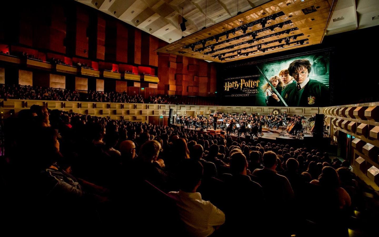 View of Harry Potter playing at Dubai Opera
