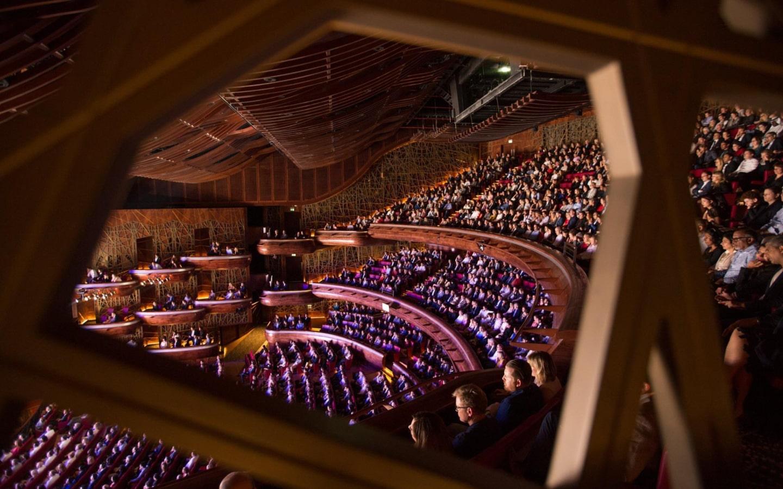 Seating at Dubai Opera shows 2019