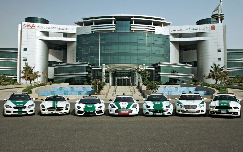 Dubai Police Supercars - Dubai world records