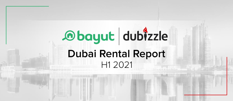 Cover for Dubai Rental Report for H1 2021
