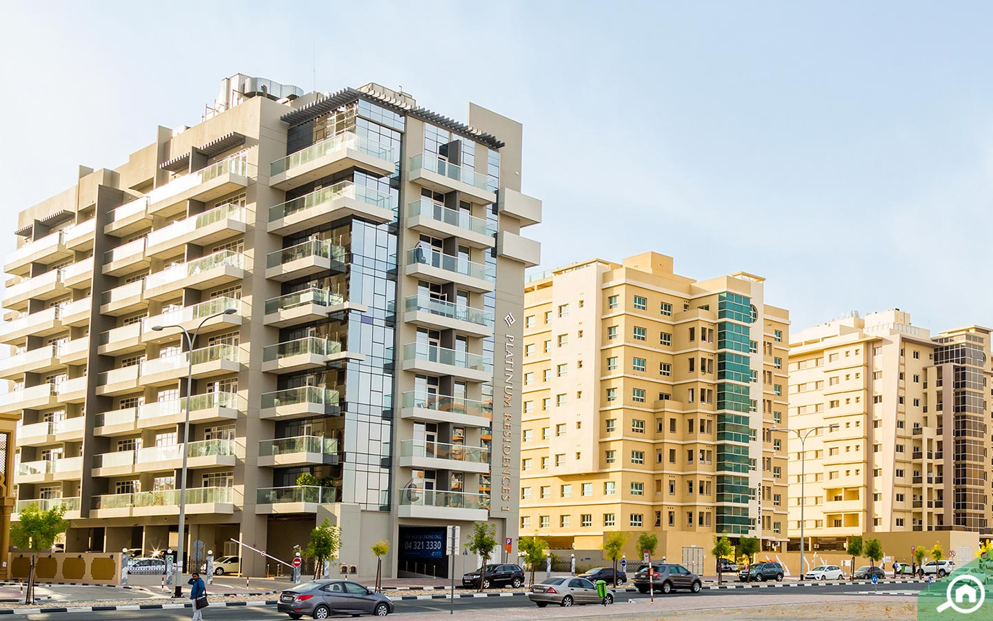 Apartment Buildings in Dubai Silicon Oasis
