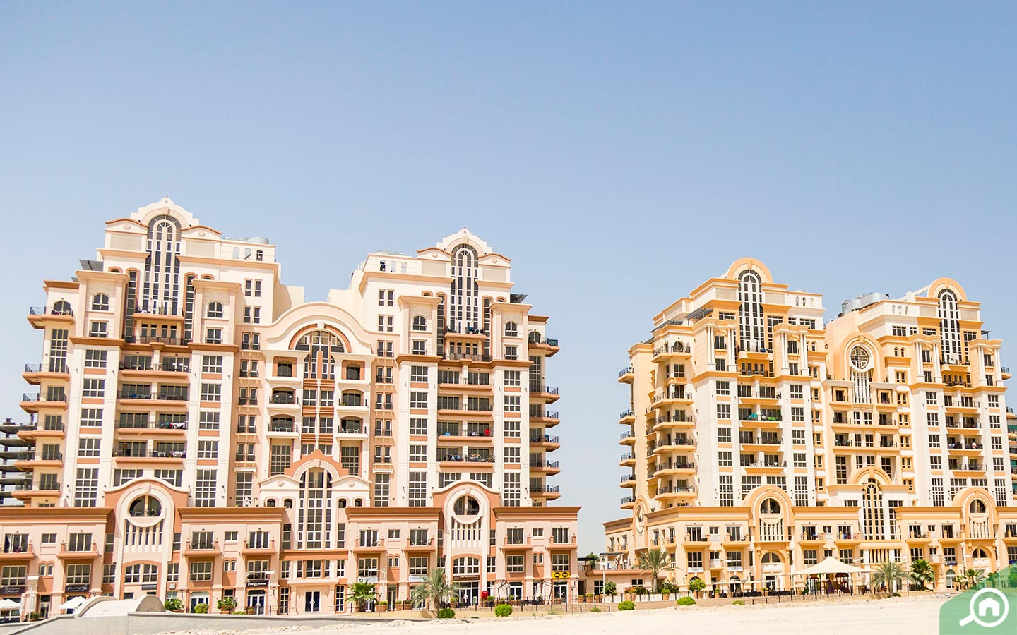 View of Canal Residences in Dubai Sports City