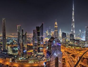 Dubai Skyline - Dubai World Records