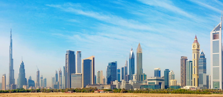 مباني دبي