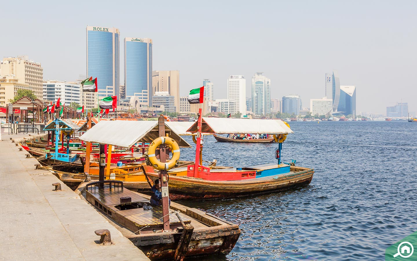 Abra boats Dubai creek