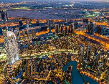 Downtown Dubai and nearby areas
