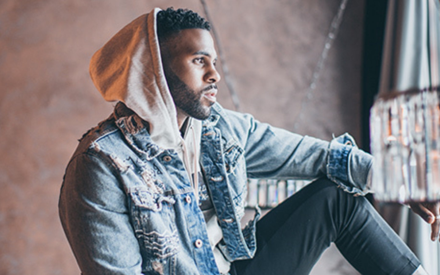 Jason Derulo performing at Global Village for events in Dubai in December