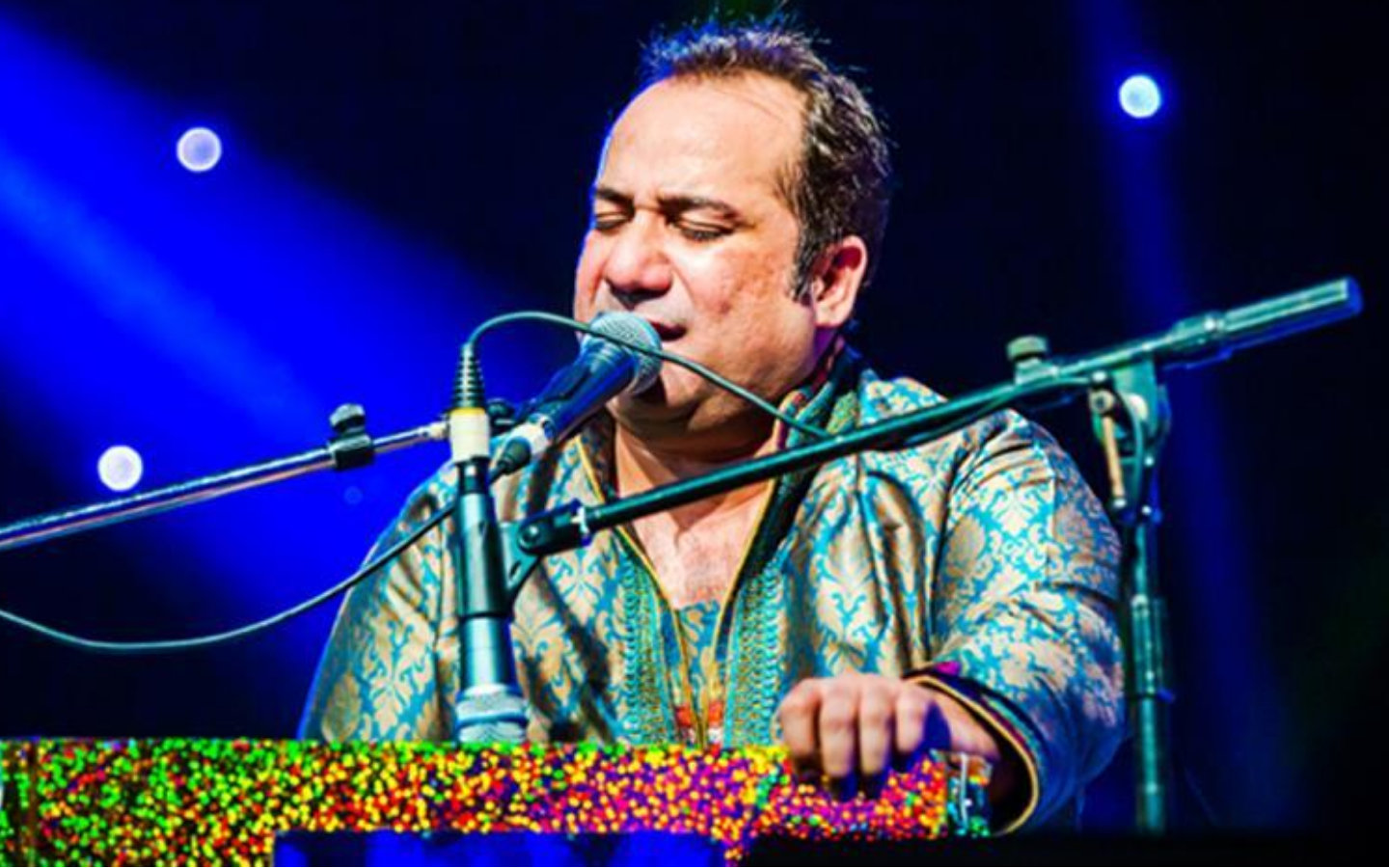 Rahat Fateh Ali Khan for an event in Dubai in December