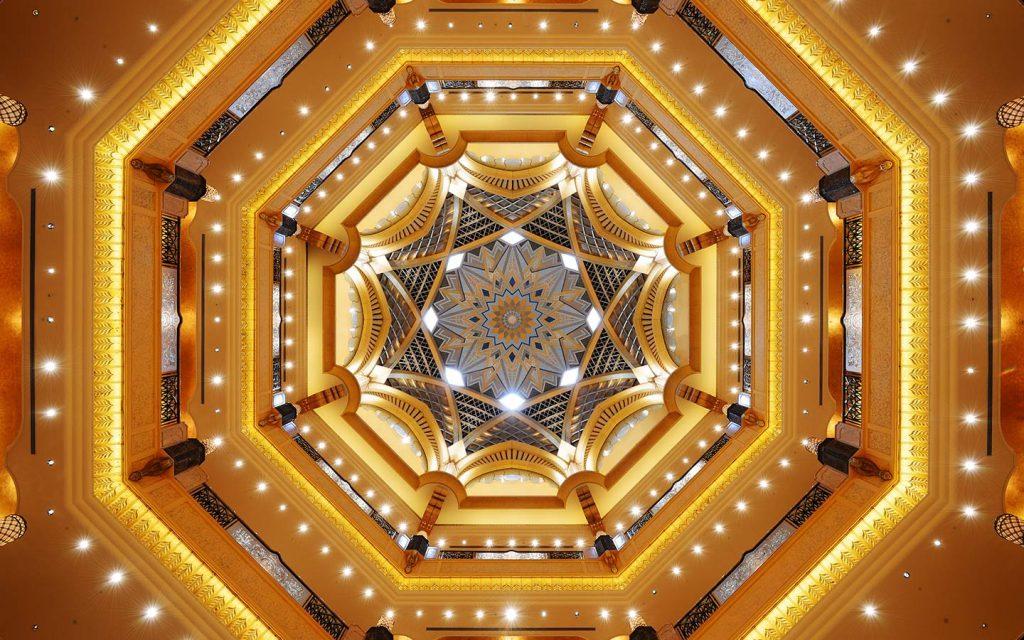 زخارف في قصر الامارات