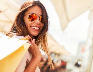 Women shopping during Eid Al Adha offers in Dubai