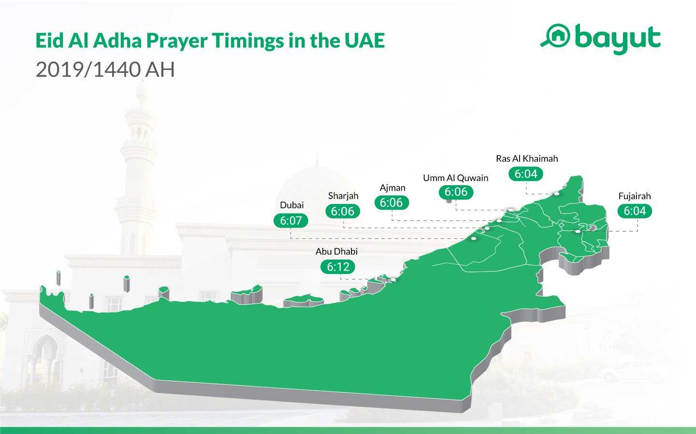 Eid Al Adha Prayer Time 2019: Dubai, Abu Dhabi, Sharjah