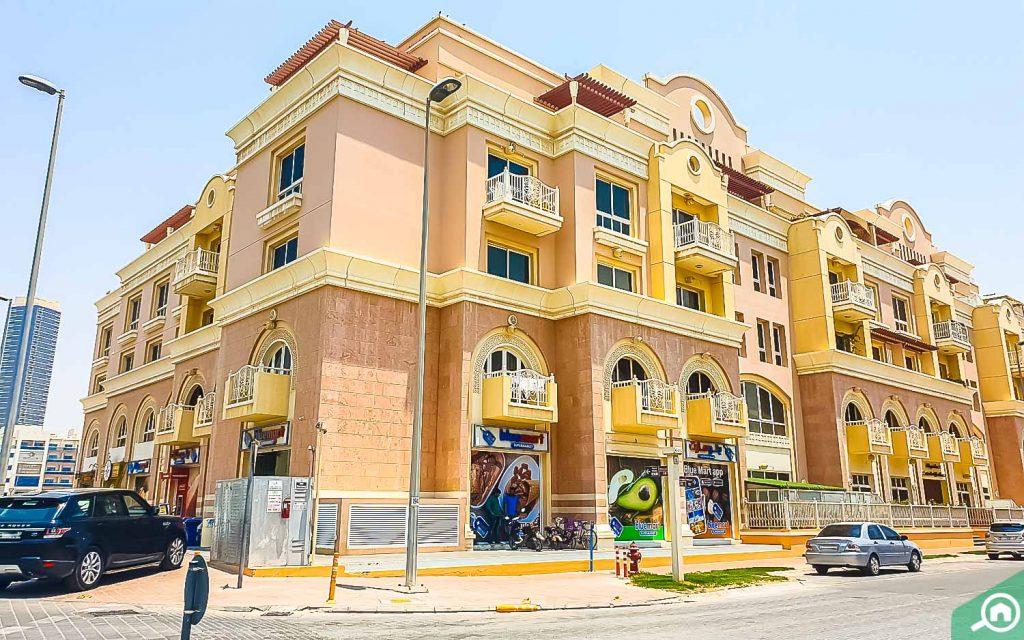 Emirates Garden apartment complex in JVC