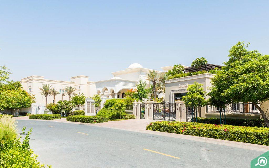 Dubai's expensive houses in Emirates Hills