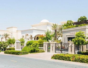 Street view of Emirates Hills community