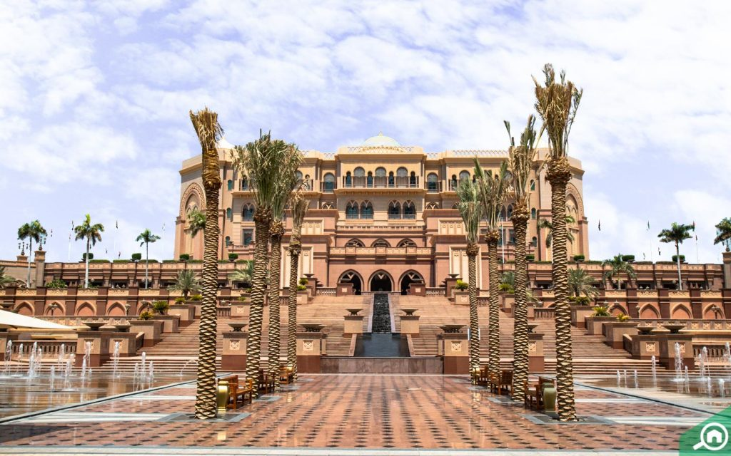 Emirates Palace front facade
