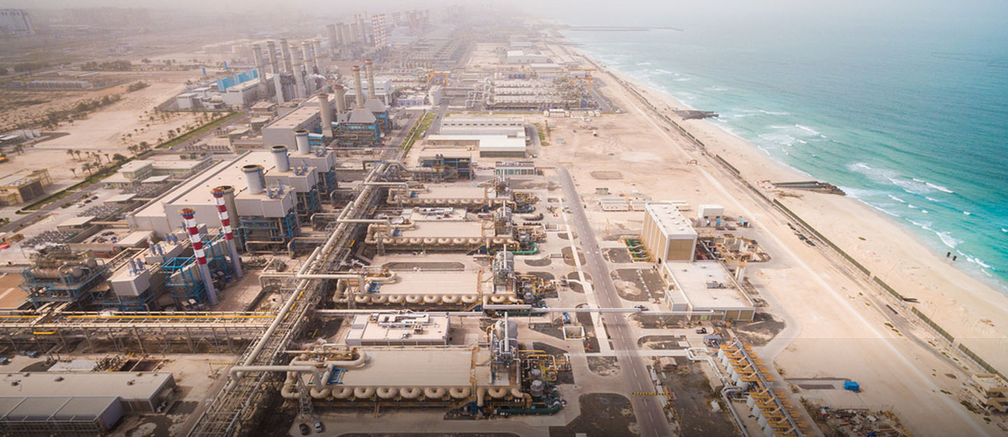 A power plant in UAE built as part of the UAE Energy Strategy 2050