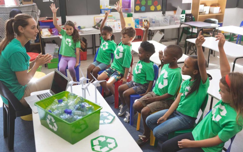 A lesson on recycling