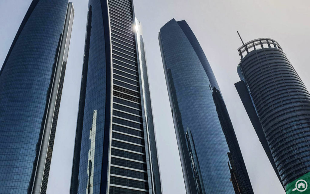 The Etihad Towers