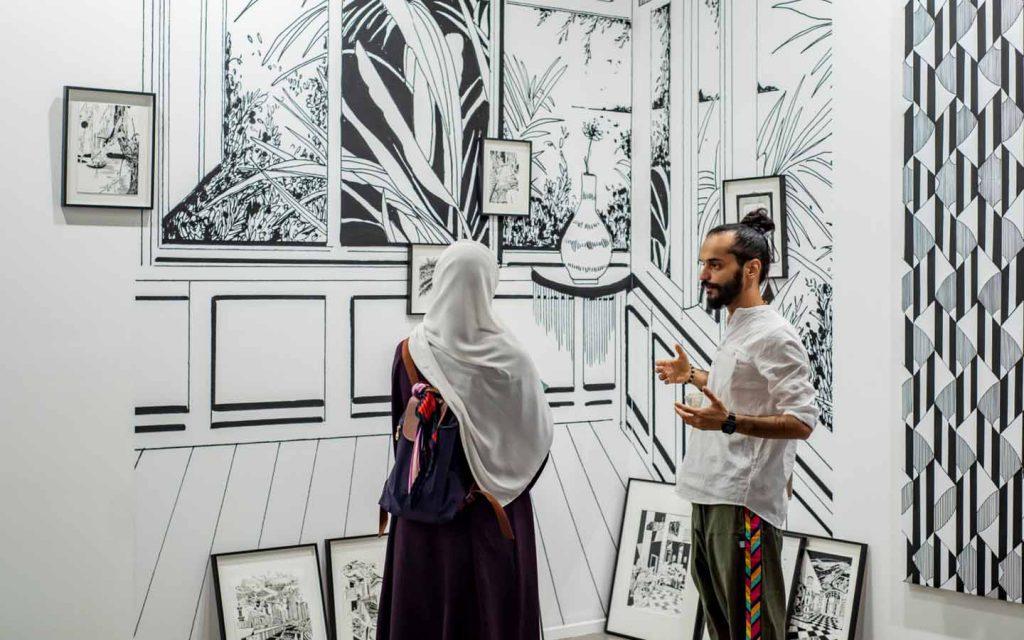arabic art gallery