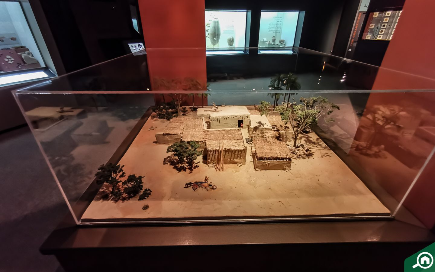 Exhibit at Sharjah Archeaological museum