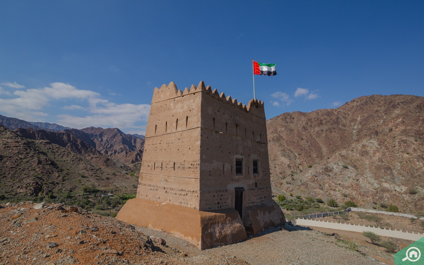 Exterior view of Al Hayl Fort