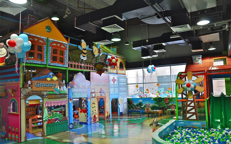 Extreme Fun - indoor play area in Dubai