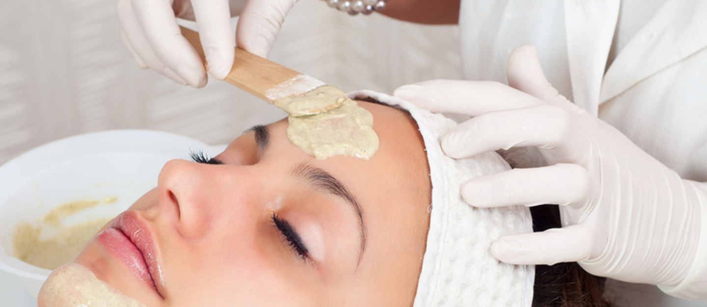 Facial by a home salon service in Dubai