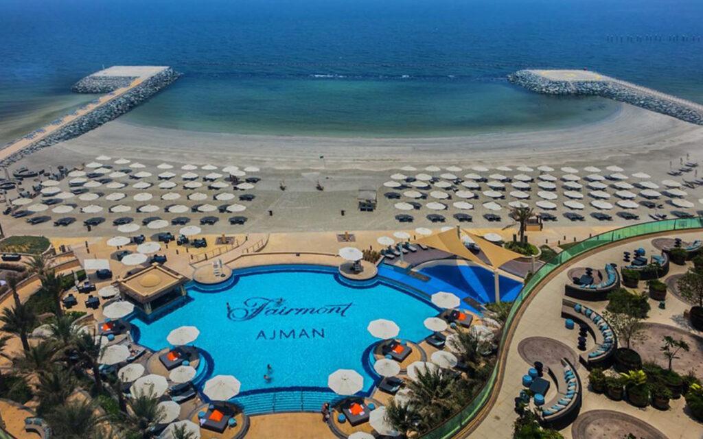 Fairmont Ajman hotel pool