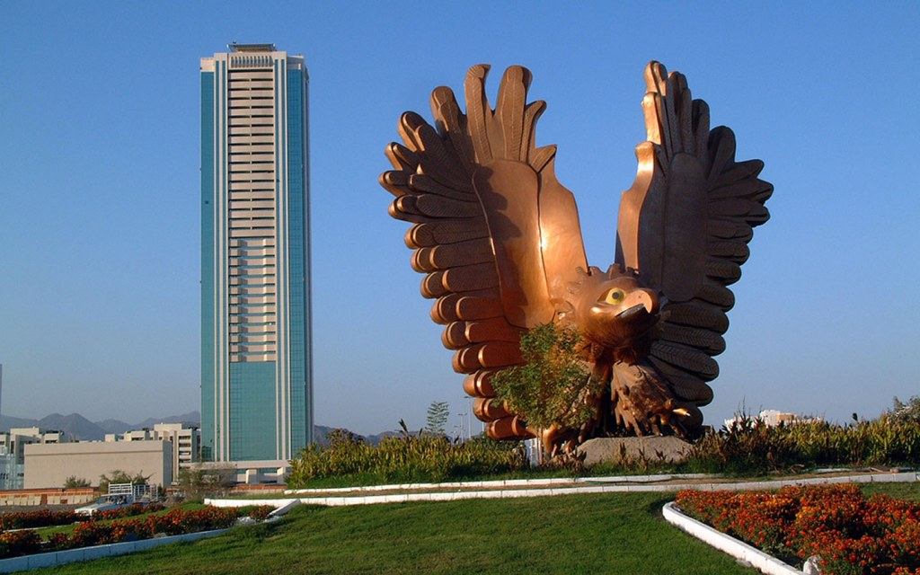 Fujairah is one of the best destinations for a UAE road trip with some interesting attractions