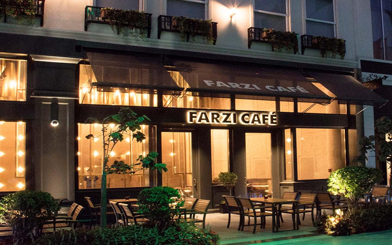 Entrance of Farzi Cafe City Walk