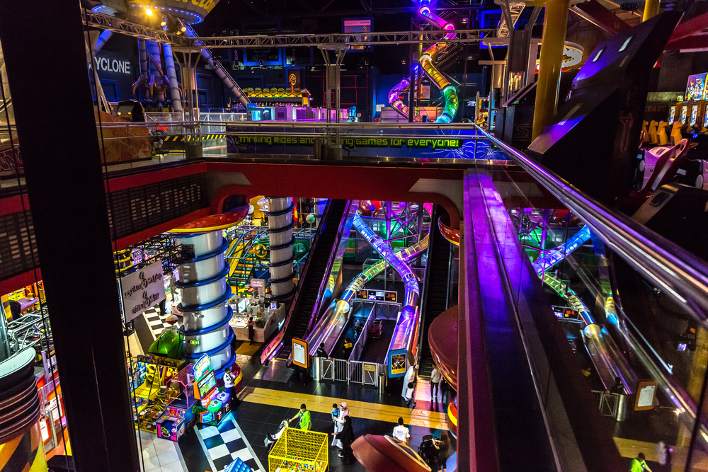 IMG Worlds of Adventure: the largest indoor themed park in the worl