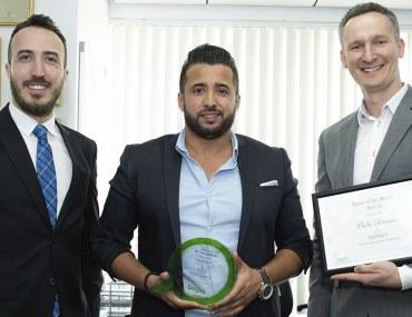 أبوظبي: ديستريكت للوساطة العقارية تفوز بجائزة الوكالة المثالية لشهر أغسطس 2018