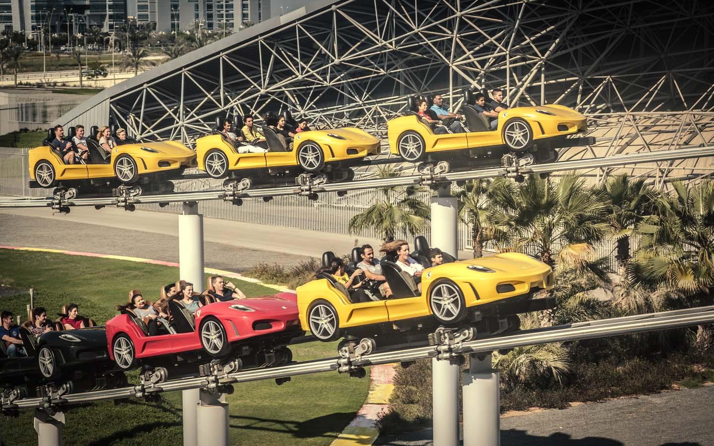 Fiorano GT at Ferrari World Abu Dhabi