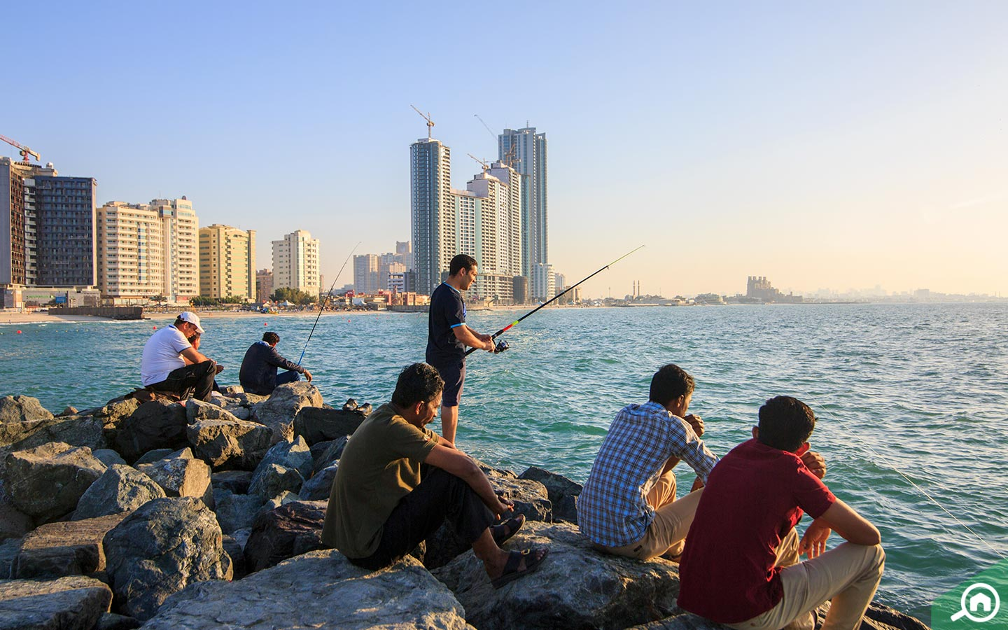 Fishing in Ajman