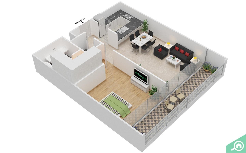 الهدف من مخططات ثنائية وثلاثية الأبعاد هو تزويد أصحاب المنازل والمستأجرين المحتملين برؤية تفصيلية للعقار، قبل الذهاب لمشاهدته بشكل شخصي