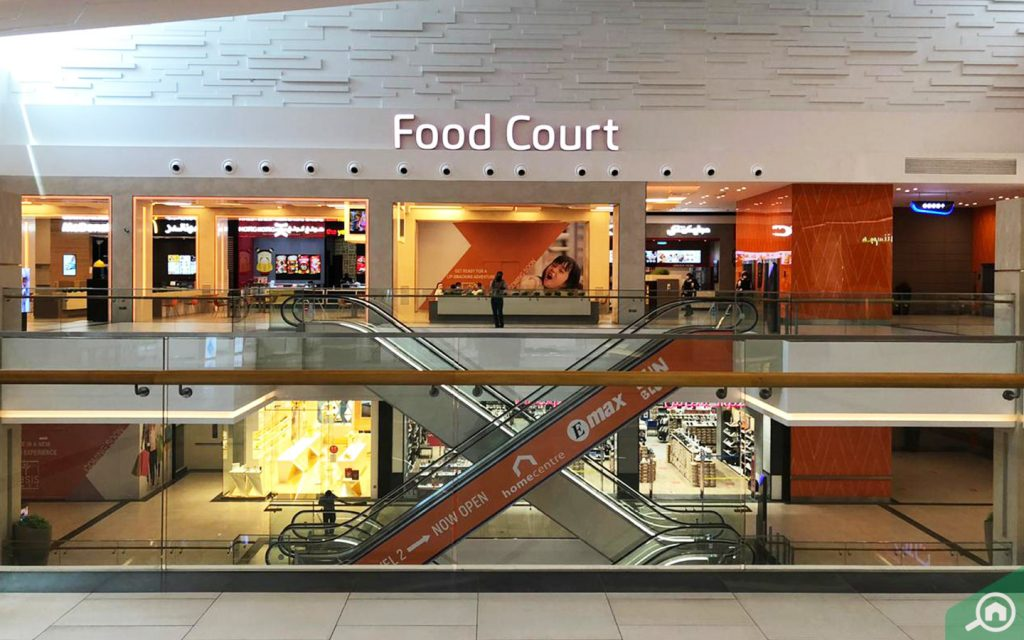 Food Court at Oasis Mall