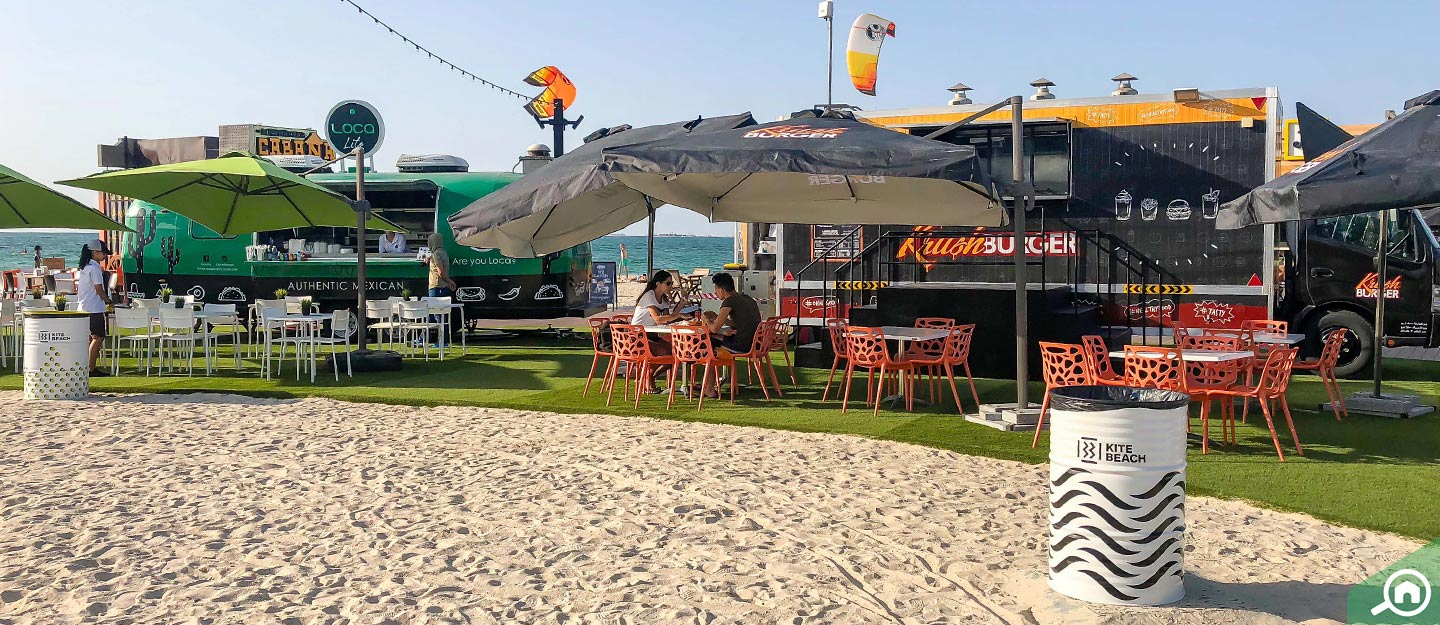 food trucks in Dubai