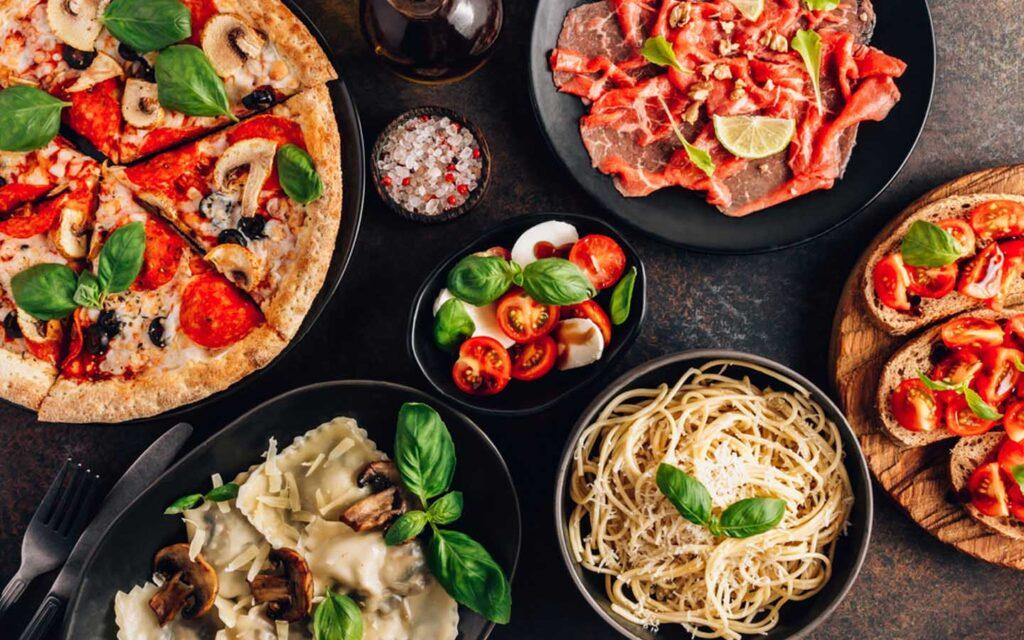 اطباق ايطالية