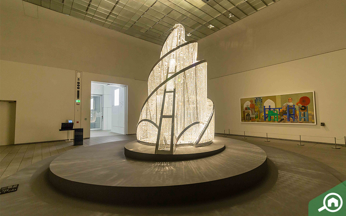 Fountain of Light - Louvre Abu Dhabi