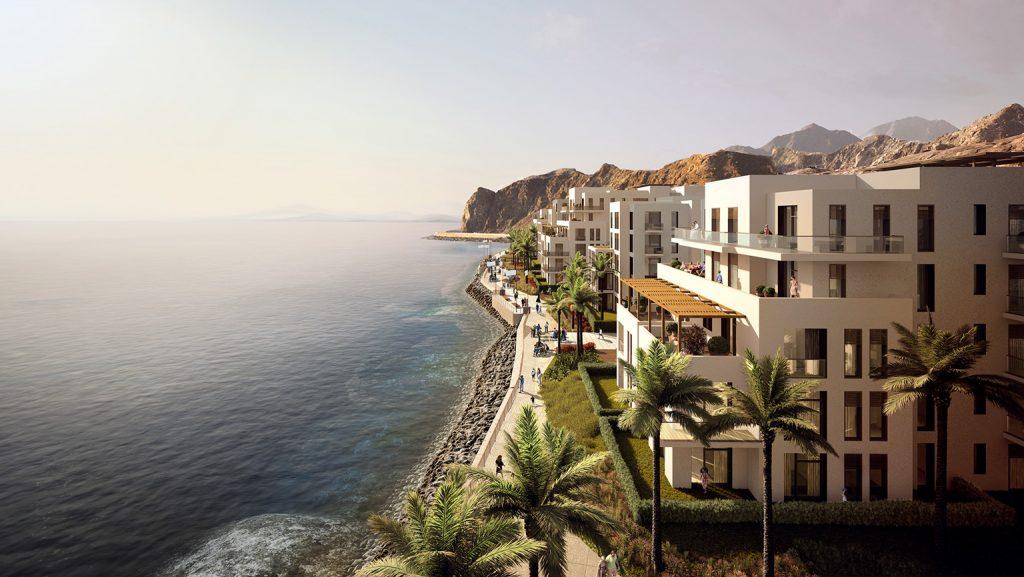 The future prestigious waterfront lifestyle destination on the east coast - The Address Residences Fujairah Resort & Spa