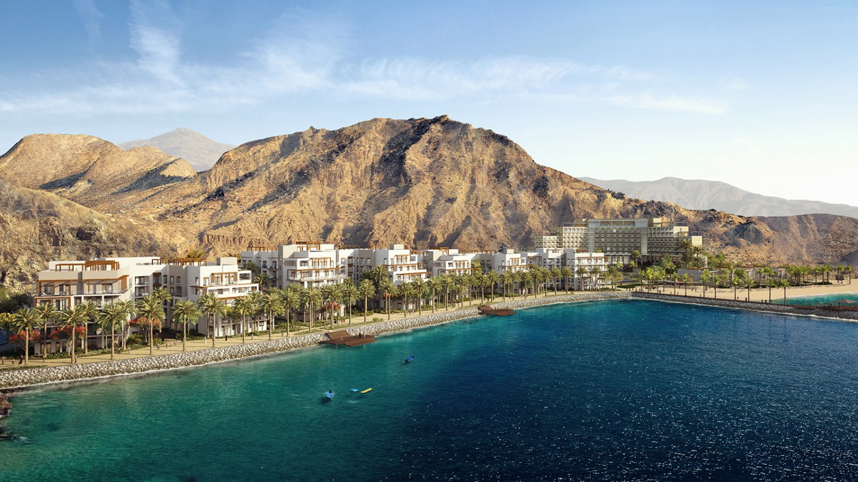 The future prestigious lifestyle destination - The Address Residences Fujairah Resort & Spa by Eagle Hills Abu-Dhabi based developer