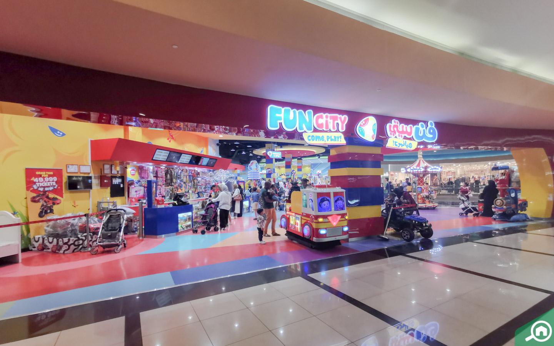Fun city main entrance