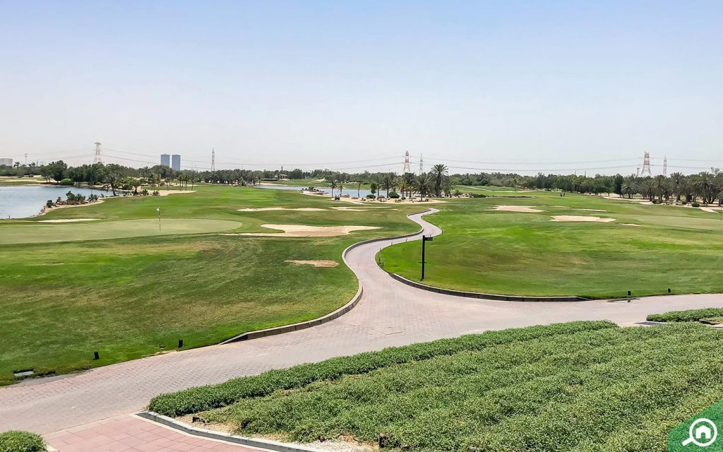 Abu Dhabi Golf Club, which is 10 minutes away from those living in Khalifa City A.